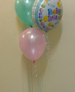 F3 floor balloon arrangement