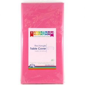 rectangle table cover magenta