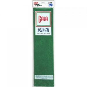 Gala Crepe Paper national green