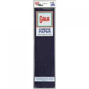 Gala Crepe Paper Navy Blue