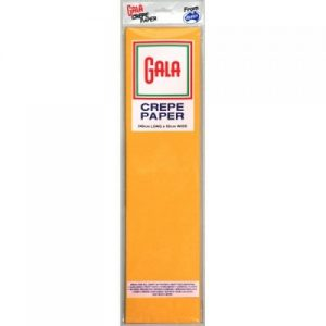 gala crepe paper national gold