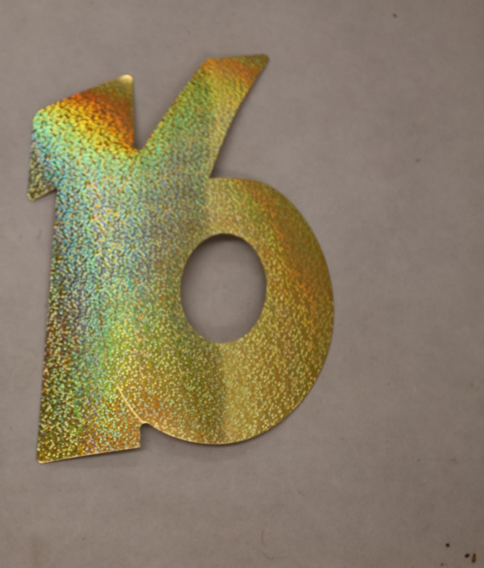 cutout-number-16
