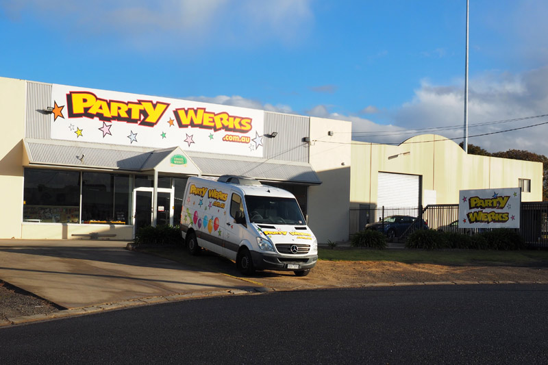 Party Werks North Geelong new store
