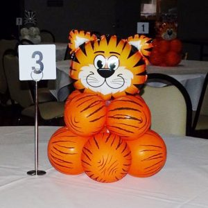 Party Werks tiger balloon base