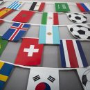 2018 World cup string flags