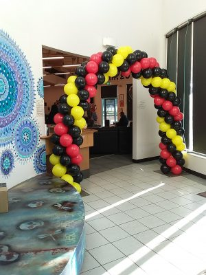 Packed Balloon Arch 2 - Party Werks Geelong