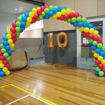 Packed Balloon Arches - Party Werks Geelong