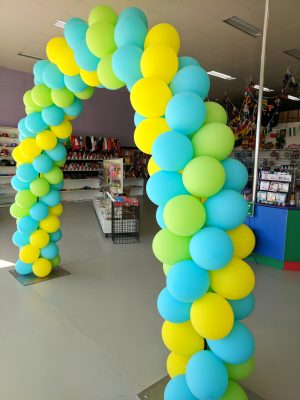 Packed Balloon arch 1 - Party Werks Geelong