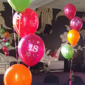 Printed Latex Number Balloons