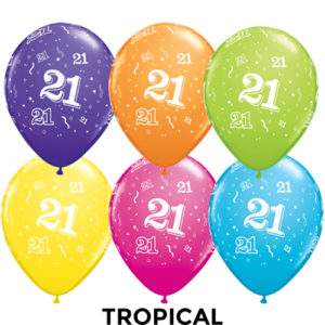Party werks 21 tropical